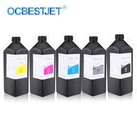 5x1000ml LED UV Ink Bottle For Epson T50 T60 R290 1390 1400 1500W 4800 4880 L800 L805 L1800 Printer Ink Universal UV Printer Ink