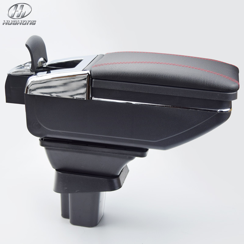 For SUZUKI SX4 armrest box central Store content box with cup holder ...