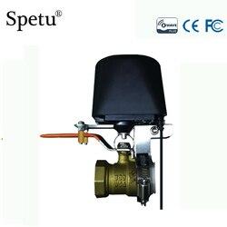 Z-Welle Smart Home Automation Gas/Wasser Auto Abschaltung Ventil/Kleine Insgesamt Ventil/Wasser Ventile Und garten Bewässerung EU 868. 42MHZ