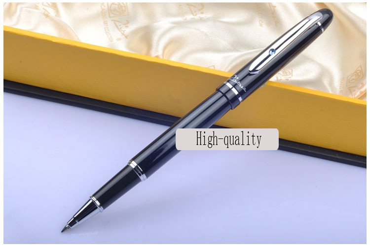 black Picasso Ballpoint Pen high quality roller ball pen Office and school Writing Supplies gel pens business gift free shipping tercel metal roller ball pens school office supplies creative gel pens luxury chancery gift signature pen writing high grade