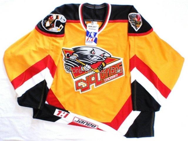 premium selection 539e1 c956a top quality customized hockey jerseys cincinnati cyclones ...