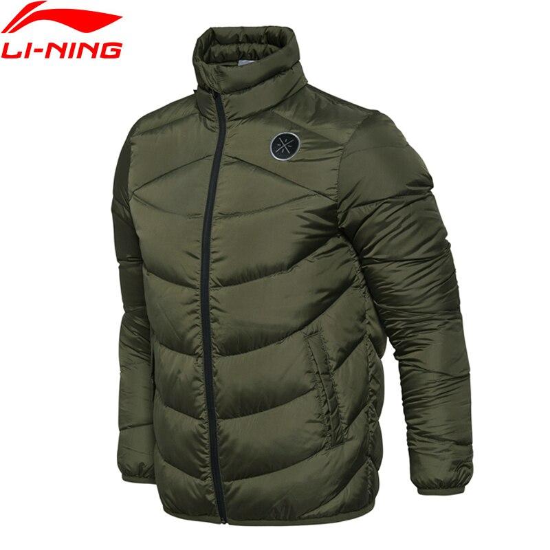 Li-Ning Men Wade Short Down Jacket AT PROOF WIND Comfort LiNing Winter Jackets AYMM183 MWY267 men at arms