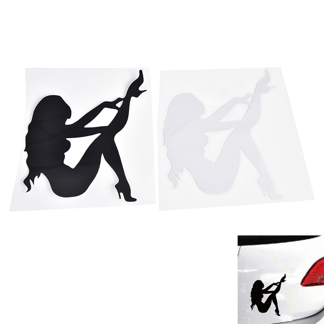 PC Sexy Girls Car Sticker Angel Devil Beauty Cm Super Cool - Cool car stickers for girls