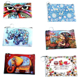 Korean Coin Purses version of cartoon wallet girl small mini wallet lady graffiti elephant owl printing clutch Female bags adult