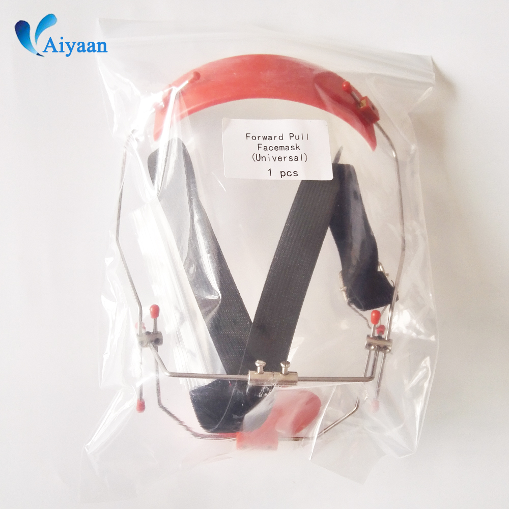 1 pc Dental Orthodontic Forward-pull Headgear Traction Equipment Device Instrument Mask-type Adjustable(China)