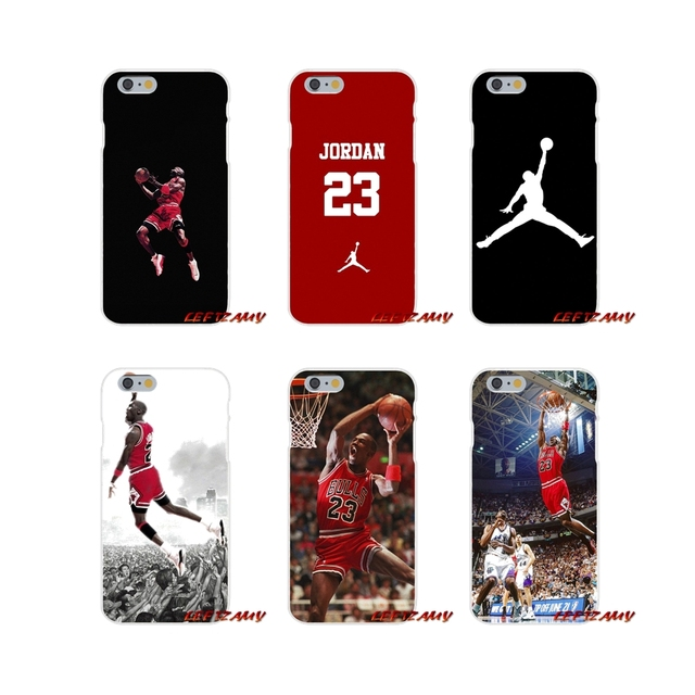 c463fa62737f74 Transparent TPU Case Covers fashion Michael Jordan 23 logo For Samsung  Galaxy S3 S4 S5 MINI S6 S7 edge S8 S9 Plus Note 2 3 4 5 8