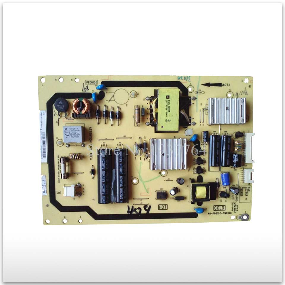 Power Supply Board 40-P081C0-PWD1XG used board original power supply board 40 e061c3 pwd1xg pwh1xg pwk1xg l32f3320b