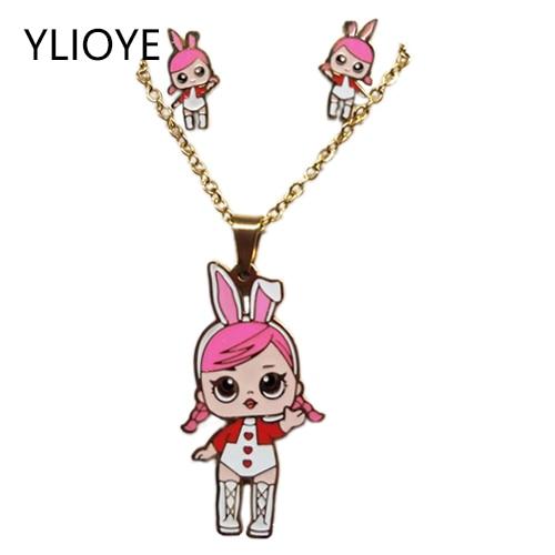 Cartoon Pink LOL Doll...