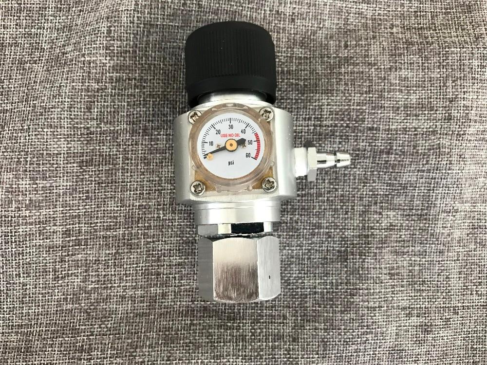 Корни бочонок co2 Регулятор CO2 Зарядное устройство комплект 0-60 фунтов/кв. дюйм для газировки co2 бутылка пива Kegerator Soda