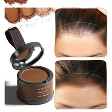 MAYCHEER 4 Color Hair Fluffy Powder Instantly Black Root Cover Up Natural Instant Hair Line Shadow Powder Hair Concealer Coverag pure henna hair dye powder 3 5 oz 2 all natural high pigment color for hair root touch up beard