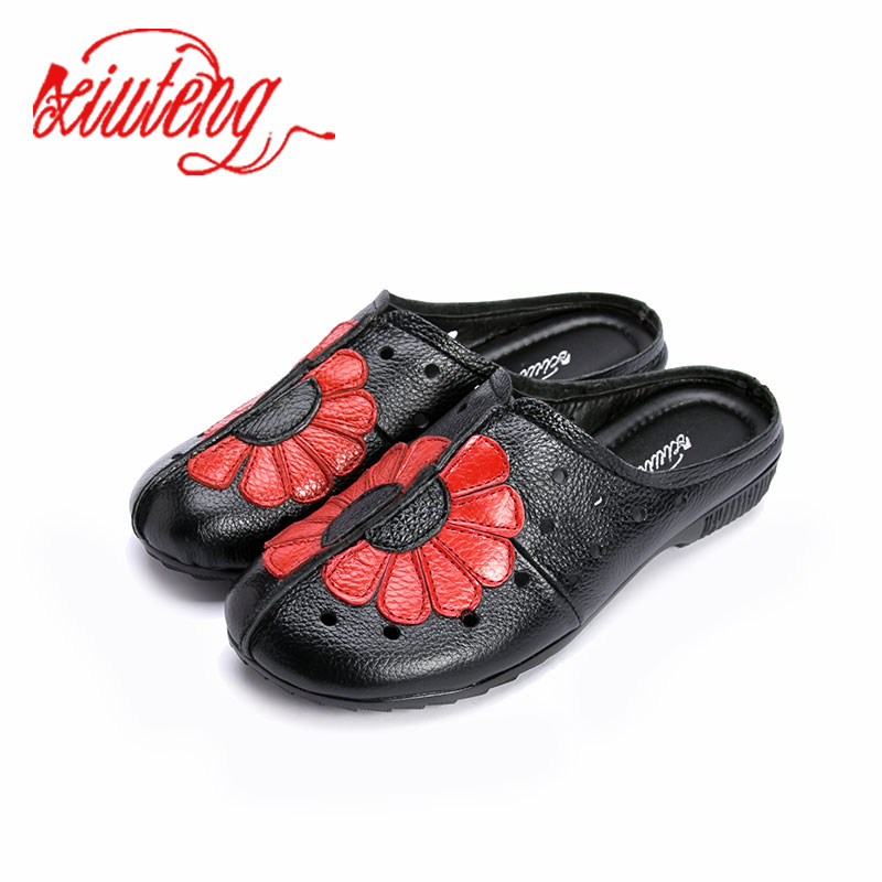 2018 Jaune Cuir gris Chaussures orange Femme gris Main En Noir rouge De Femmes Mocassins Plates fait Dames Occasionnel Appartements Véritable rouge Vache Plat n44wWrRq