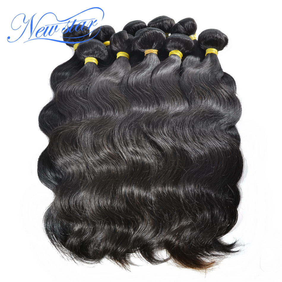 Peruvian 11A Body Wave Wholesale 10pcs Lot New Star Virgin Hair Intact Cuticle Raw Hair Weaving