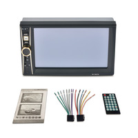 New 6 5 Inch Touch Screen Digital Stereo Radio HD Display Auto 2DIN In Dash Car
