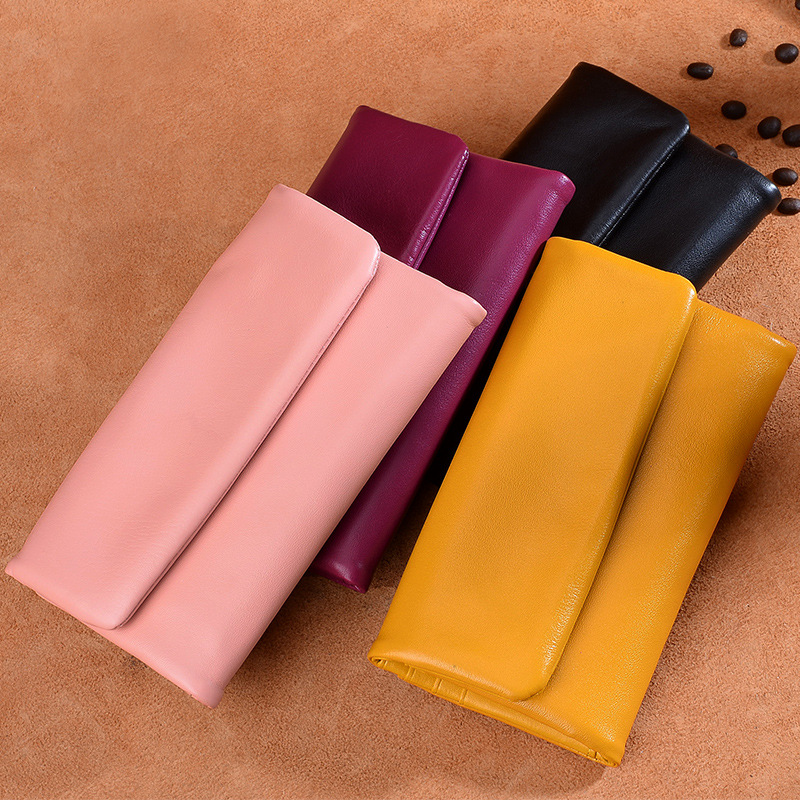 2018 New Women Wallets Genuine Leather High Quality Long Designer Clutch Wallet High Quality Fashion Brand Card Phone Purse