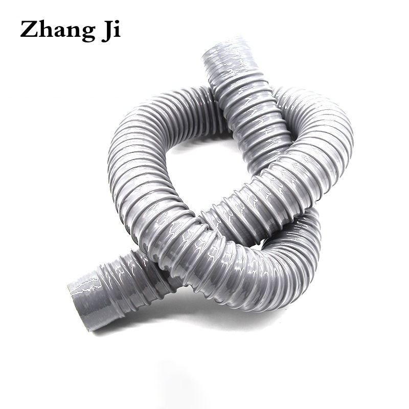 US $6.69 33% OFF Zhang Ji Kitchen sink drain hose Simple design Universal  Bathroom basin flexible hose 80cm Kitchen outlet water pipe-in Drains from  ...