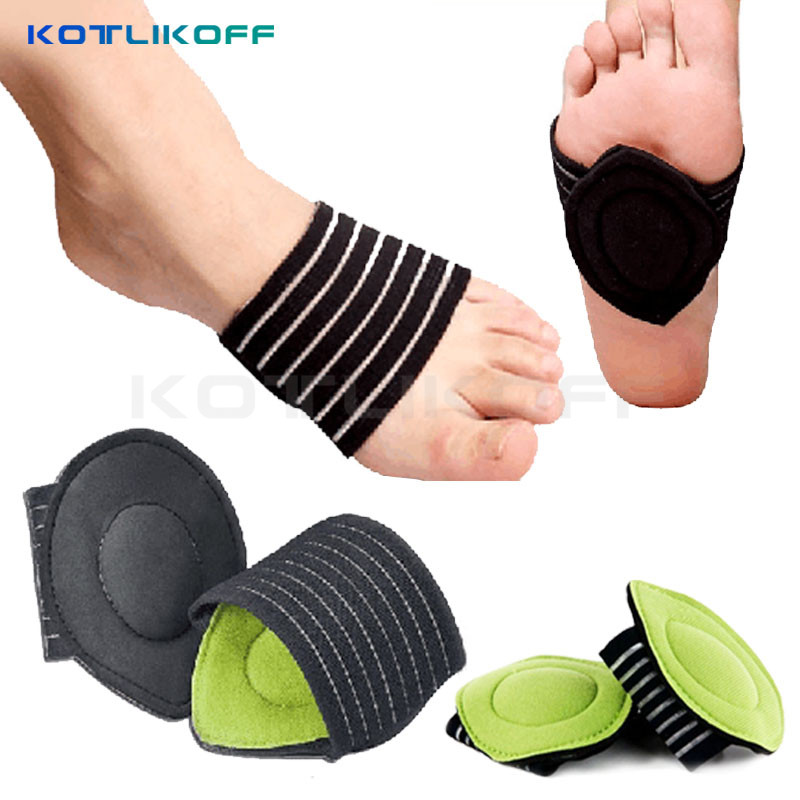 KOTLIKOFF 1 pair Correct Flat Foot Arch Support Orthopedic Insoles Women Men Half Shoe Insoles Feet  Mat Breathable Shoes Pad kotlikoff arch support insoles massage pads for shoes insole foot care shock women men shoes pad shoe inserts shoe accessories