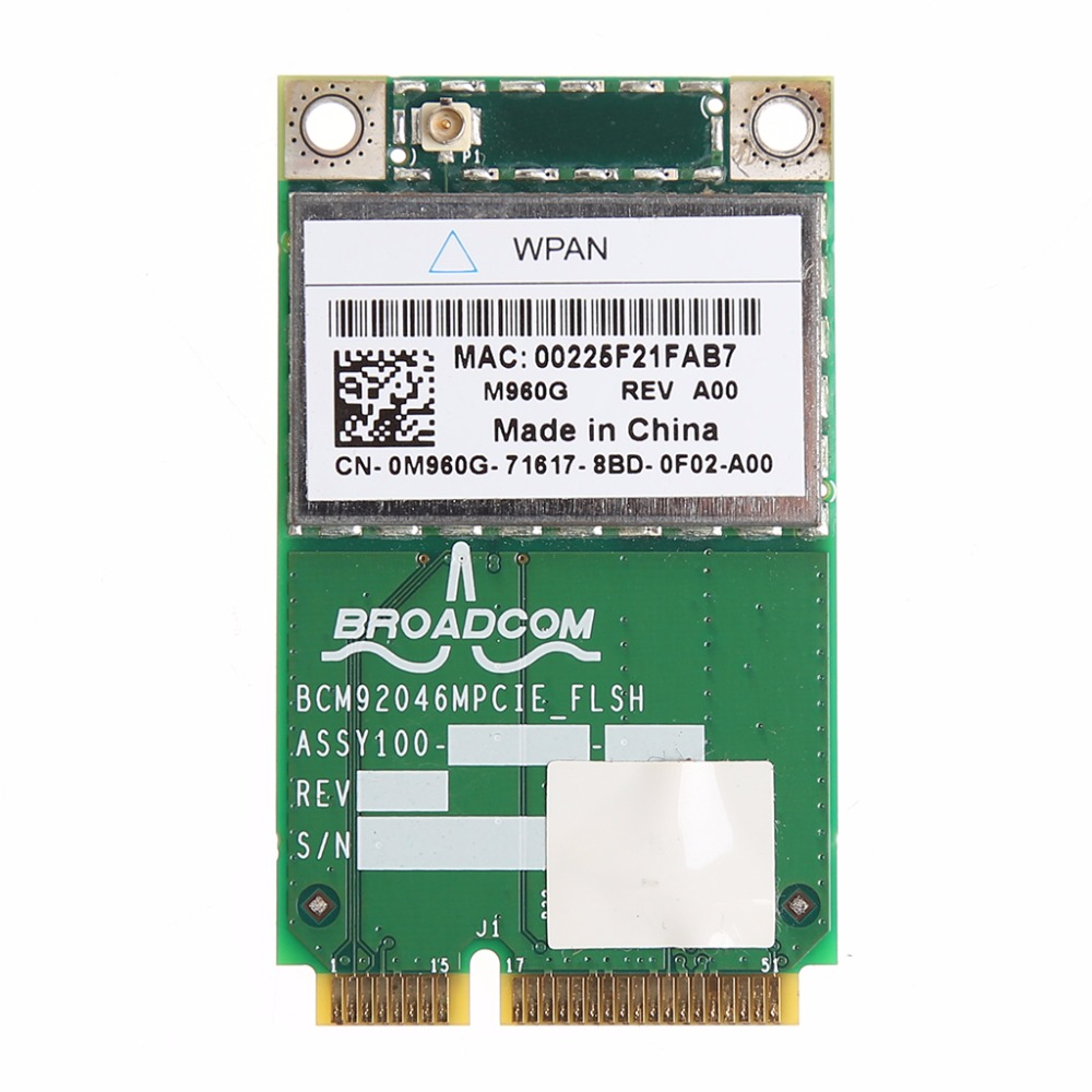 Bluetooth v2.1 Module 2.4G Wireless PCI Express Card For DELL 370 0P560G 0M960G