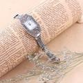 100% Thail Prata Esterlina 925 Senhoras Relógios de Quartzo relógio de Pulso Relógio de Prata Pura para As Mulheres Do Sexo Feminino Pulseira Relógios