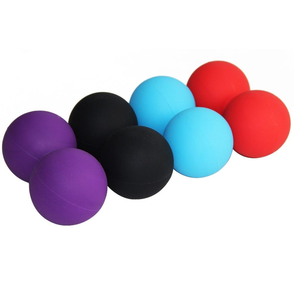 Körper Massage Ball Fitness Massage Kugeln Entspannen Entlasten Müdigkeit Rehabilitation Gym Training Massage Lacrosse Ball Fuß Pflege Werkzeug Fußpflege-utensil