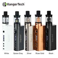 2 шт. kangertech subox мини-C VAPE комплект электронных сигарет KBOX мини-c 50 Вт поле mod и protank распылитель 5 без Батарея от kanger