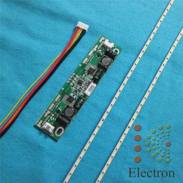 434mm LED Backlight Lamps strip Update Kit Aluminum plate w/ 26''-65'' inverter For 39 inch LCD Monitor TV Panel High light
