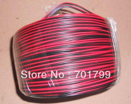 100m/lot;2pin cable for single color led strip,18AWG