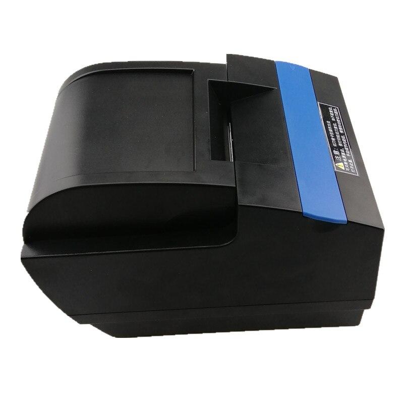 Großhandel 58mm thermische Kleine ticket empfang bill drucker Automatische papier schneiden drucker USB LAN WIFI Bluetooth drucker