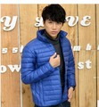 2015 New winter jacket Men Standing Collar Thin and Light Fashion Men Casual Slim Winter Outwear Down Jacket    A1061