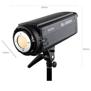 Image 4 - Lâmpada de led godox SL 200W 200ws 5600k, sem fio, para estúdio, fotografia contínua, lâmpada de vídeo com controle remoto