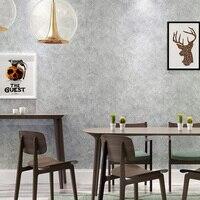 New American jahrgang industrielle farbe schlichten grauen zement wand papier restaurant bekleidungsgeschäft persönlichkeit vliestapete