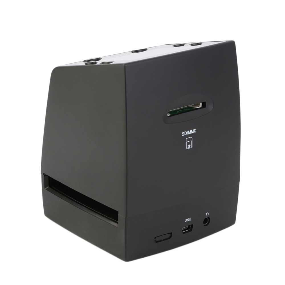 2019 جديد 5MP 35 مللي متر السلبي فيلم الشريحة المشاهد الماسح الضوئي USB الرقمية اللون صور ناسخة مع (فقط الاتحاد الأوروبي التوصيل)