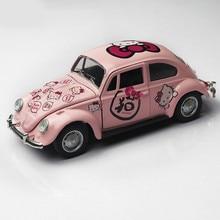 Beetle Car Kitty Cat Doraemon Clockwork Car Children's toy car model car decoration