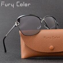 Gafas de sol polarizadas de lujo para mujer, lentes de sol polarizadas HD de estilo estrella, marca de diseñador, UV400 HD
