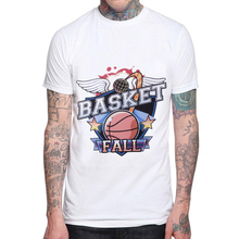 New Summer Hip Hop Basketballer T Shirt Men Casual 100% Cotton Short Sleeve Funny Printed T-shirt Mens Tshirt Cool Tee Shirts new tot sale plus size t shirt men gradient color short sleeve printed funny t shirts summer fashion hip hop men tee shirt top