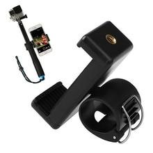 Telephone Clip Adapter Mount Holder for GoPro Hero four three+ three SJCAM SJ4000 Monopod Pole P10