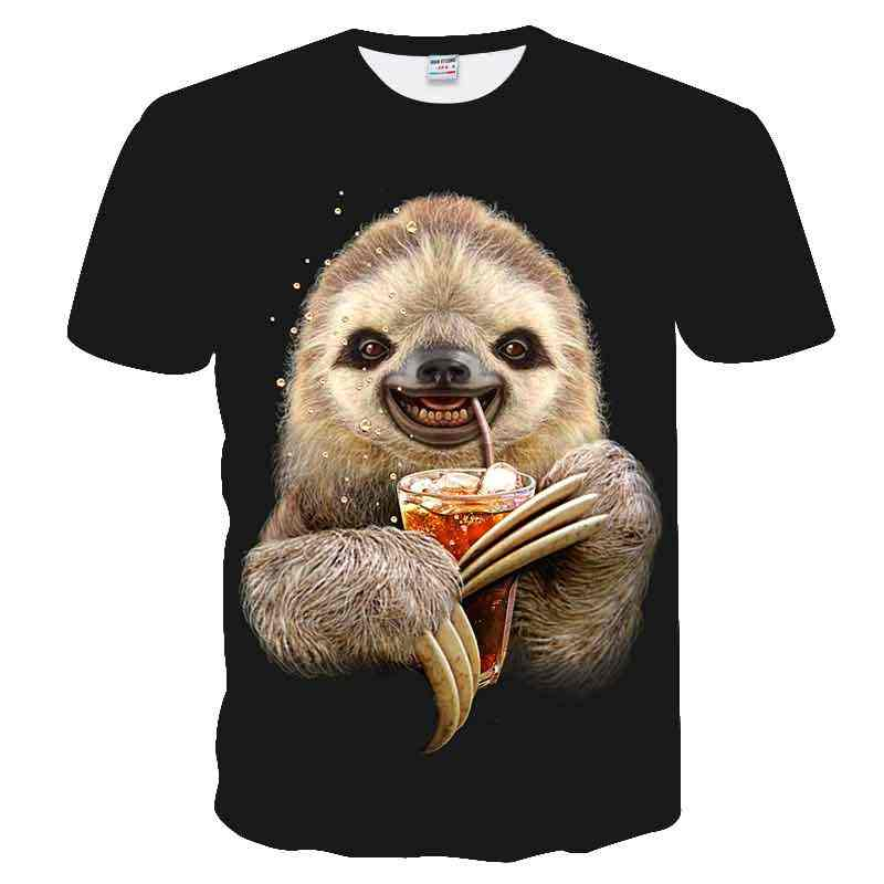 T-shirt imprimé court Modal nouveauté 2018 nouvelle marque de mode T-shirt hommes/femmes été cochon 3d t-shirt impression T-shirt hauts t-shirts,