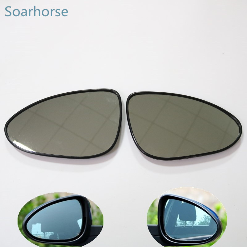 Soarhorse For Chevrolet Aveo Wing Mirror Glass Car Side Rearview Mirror Glass Lens With Heated Function