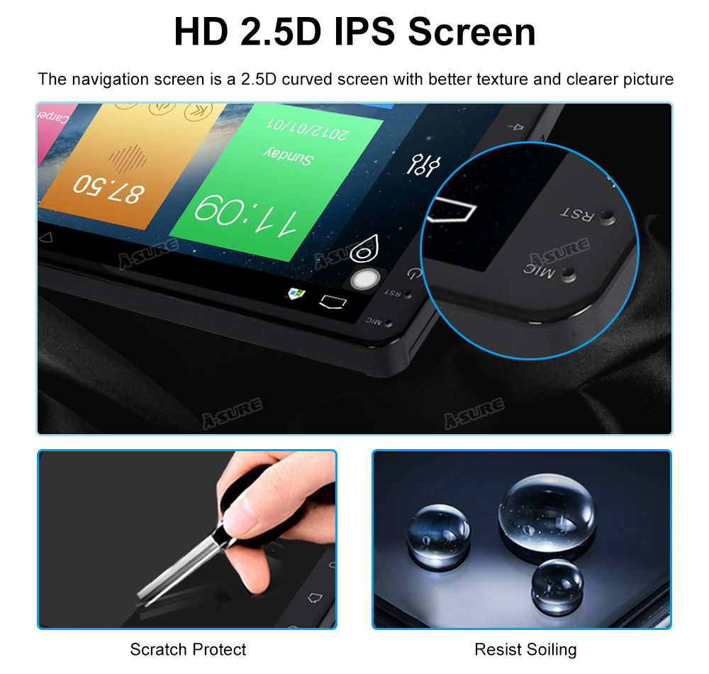 Android 8.1 10 Zoll 8 core VW Tiguan GPS DAB + 4G DSP WIFI IPS BT 64