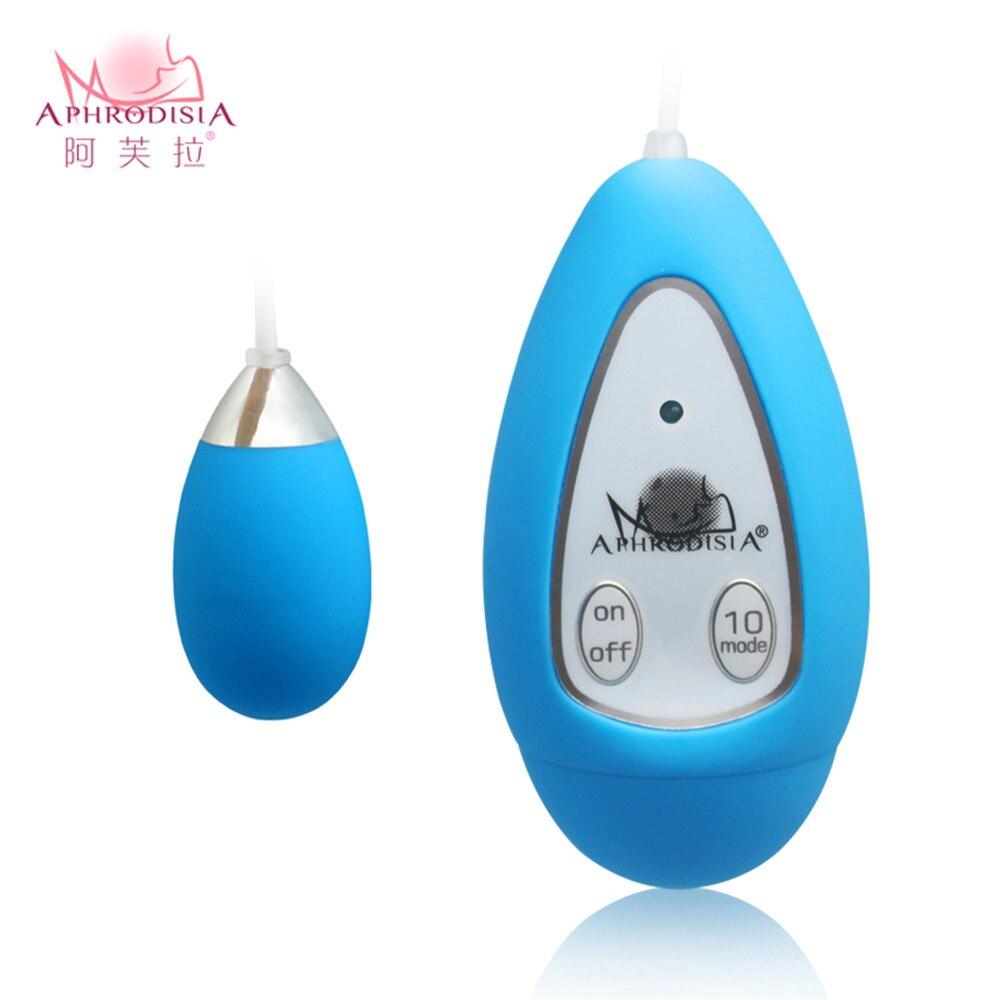 APHRODISIA 10 Speed Vibrting Jump Egg Shape Remote Vibrator Sex Toys for Woman,g spot & Clitoris Stimulator Vibe Sex Vibrator