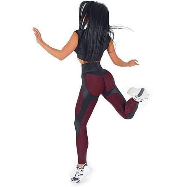 Women Elastic Workout Leggings