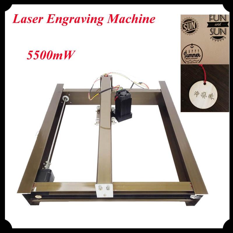 5500mW Large Area 300*230mm Mini Laser Engraver Engraving Machine Laser Cutting machine Printer diy Marking Machine