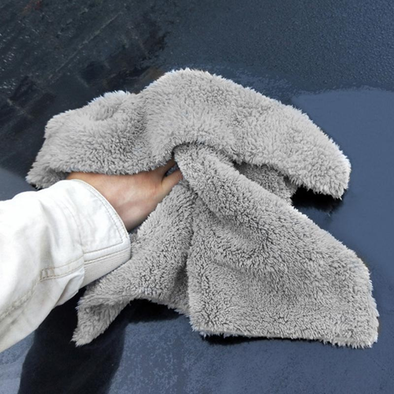 Image 2 - Car Wash Accessories Microfiber Towels Car Wash Towel Auto Detialing Clean Cloth Washing Drying Towels Strong Thick Plush Fiber-in Sponges, Cloths & Brushes from Automobiles & Motorcycles