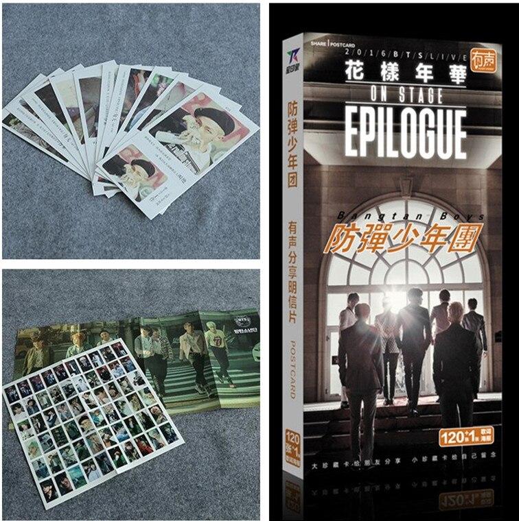 KPOP 2017 HEIßER Bangtan Boys bts Stimmung für Liebe Postkarte PHOTOcards k-pop...
