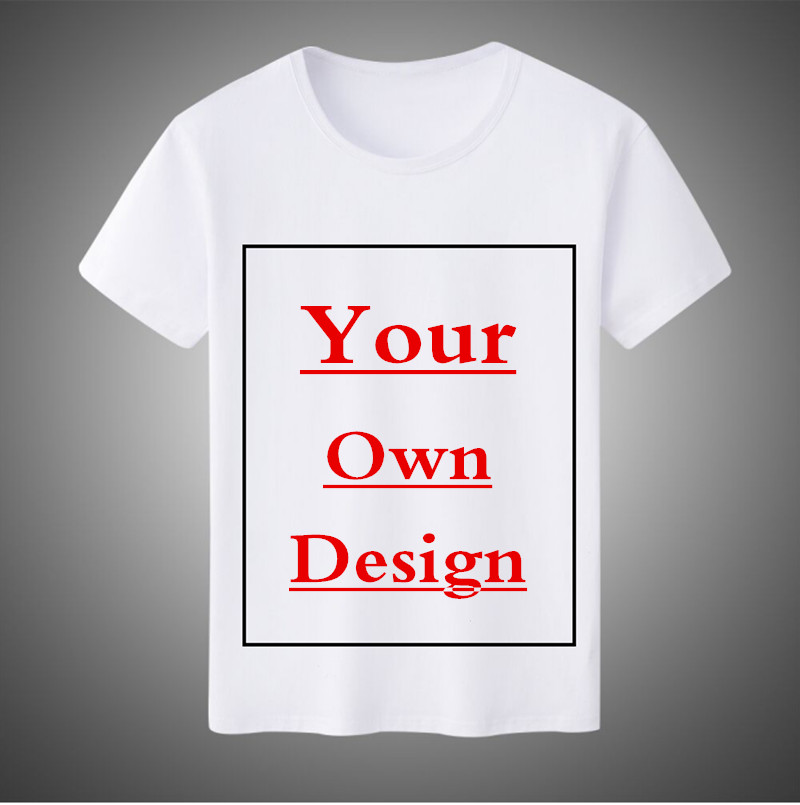 Free Customized Logo Men/Women T shirt Print Your Own Design High Quality Send Out In 2 Days t shirts custom-made ...