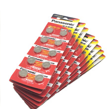 200pcs/lot 100% Original Panasonic 1.5V AG10 LR1130 Alkaline Button Coin Cell Battery 389 LR54 SR54 SR1130W 189