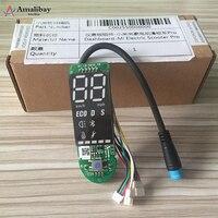 Painel original para xiaomi m365 pro scooter elétrico pro placa de circuito com capa de tela para xiaomi m365 pro acessórios