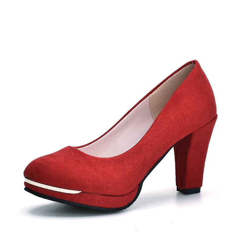 2019 New Toe Platform Women Pumps 9cm Sexy Extremely High Heels Shoes Red Dress Wedding Pumps Woman