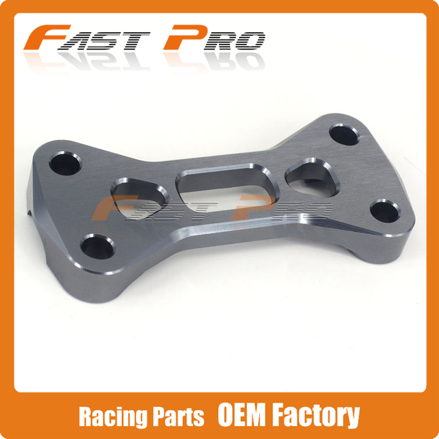 "7/8"" 22MM Billet Handlebar Mount Top Bar Clamp For KX125 KX250 KX250F KX450F RM125 RM250 RMZ250 DRZ400S DRZ400SM DRZ400R"