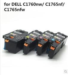 Kompatybilny dla Dell C1760nw/C1765nf/C1765nfw drukarki kasety z tonerem kolorowym 332 0407 332 0408 332  0409 332 0410|toner original|toner cartridge worldtoner cartridge for hp laserjet 4050 -