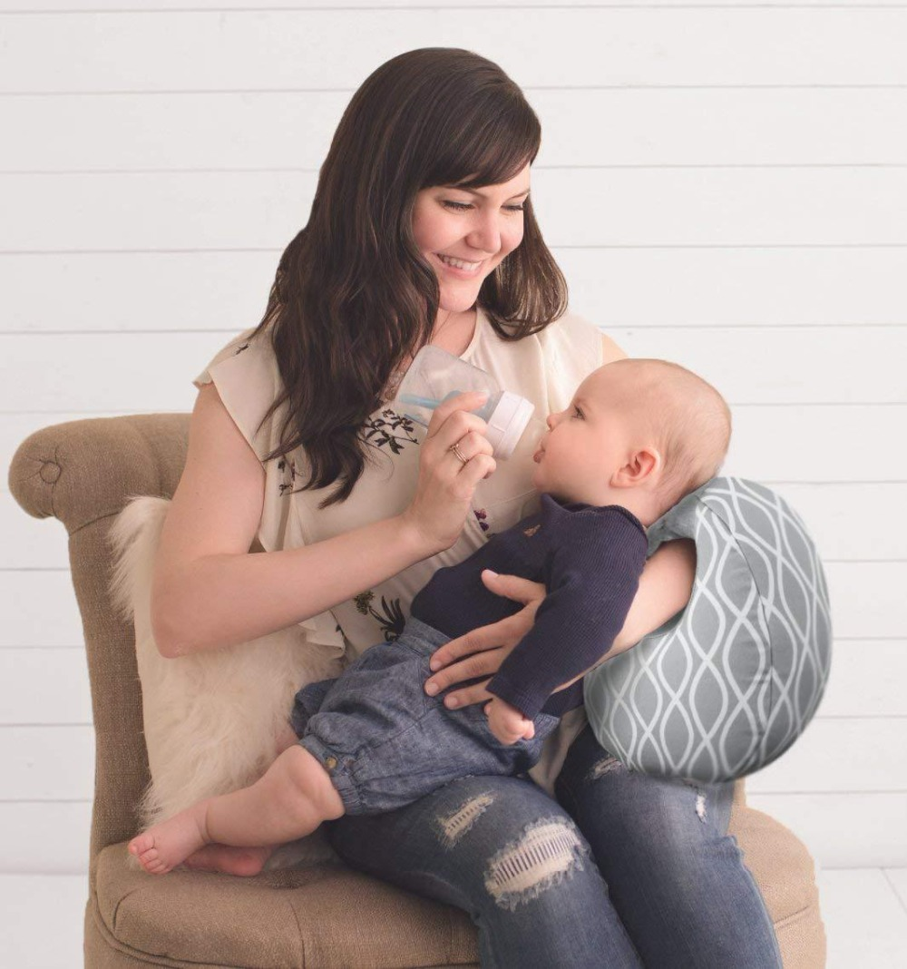 Baby Nursing Pillows Maternity Baby Breastfeeding Bottle Feeding Baby Pillow and Positioner Baby Care Assistant for Mother Kids (7)